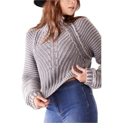 フリーピープル FREE PEOPLE レディース ニット・セーター トップス Sweetheart Mock Neck Sweater Tungsten