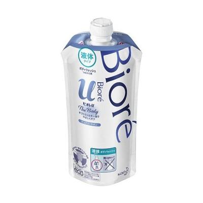 花王 ビオレu ザ ボディ 液体タイプ ピュアリーサボンの香り つめかえ用 340ml 1パック (お取寄せ品)