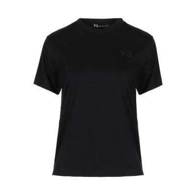ワイスリー Y-3 T シャツ ブラック XXS コットン 100% T シャツ