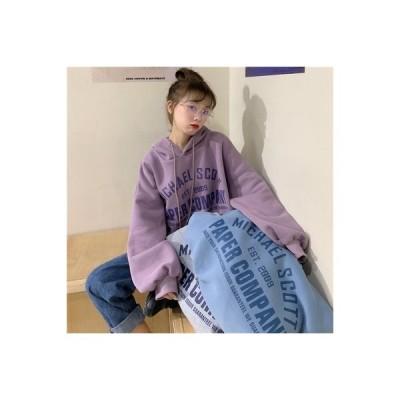 【送料無料】セーター 女 秋冬 韓国風 レターズ 何でも似合う ルース キャップ頭 | 364331_A64350-4498397
