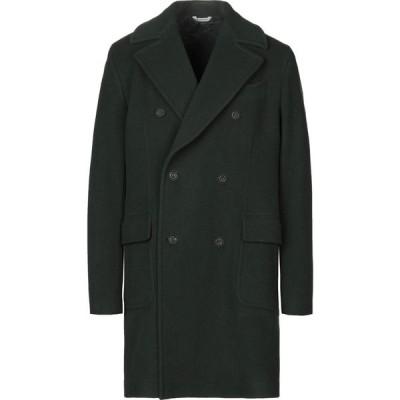 マニュエル リッツ MANUEL RITZ メンズ コート アウター Coat Dark green