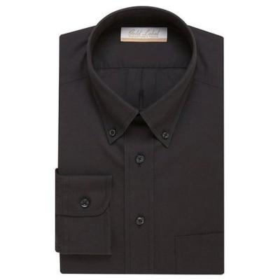 ラウンドトゥリーアンドヨーク メンズ シャツ トップス Gold Label Roundtree & Yorke Non-Iron Full-Fit Button-Down Collar Solid Dress Shirt