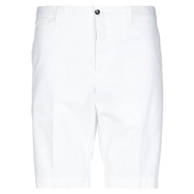 PT Torino バミューダパンツ ホワイト 54 コットン 96% / ポリウレタン 4% バミューダパンツ