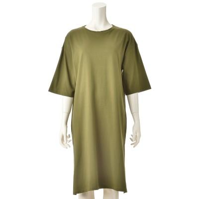 Provador コットン100% Tシャツワンピース
