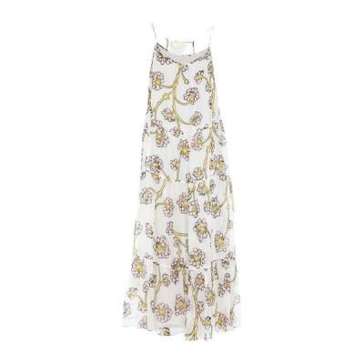 DIANE VON FURSTENBERG シルクドレス ファッション  レディースファッション  ドレス、ブライダル  パーティドレス ホワイト