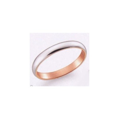 (51) K277WP True Love トゥルーラブ パイロット  お得な特別割引価格 K18WG ホワイト & K18PG  ピンク マリッジリング 結婚指輪 ペアリング (1本)