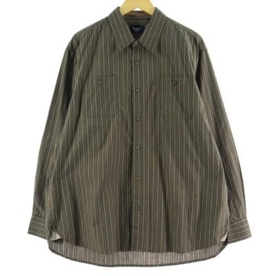 ストライプ ドレスシャツ メンズXL /eaa070862