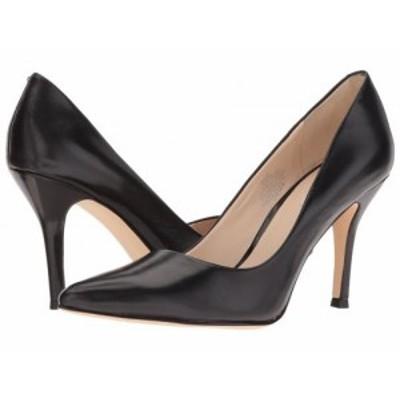 Nine West ナインウエスト レディース 女性用 シューズ 靴 ヒール Flax Pump Black Leather【送料無料】