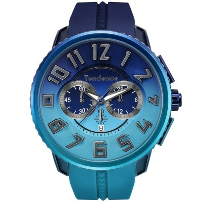 ECHELLE Liberte / Tendence テンデンス De'Color CHRONOGRAPH ディカラー 日本限定モデル クロノグラフ 腕時計 TY146101 MEN 時計 > 腕時計