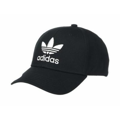 アディダスオリジナルス 帽子 アクセサリー メンズ Originals Icon Precurve Snapback Black/White