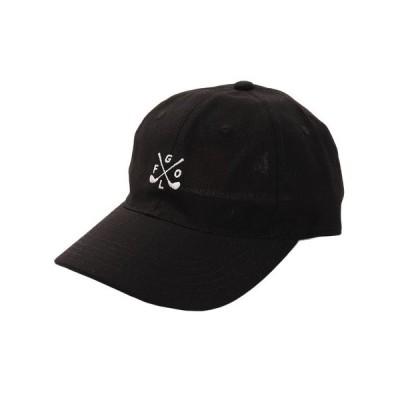 エーシーピージー(ACPG) リネン刺繍キャップ GOLF 897PA9ST1742 BLK (メンズ)