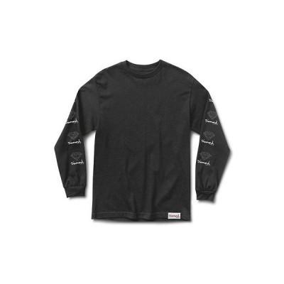 Tシャツ ダイアモンド サプライ カンパニー Diamond Supply Co. Men's OG Sign T Shirt Black Tee T-Shirts Clothing Apparel
