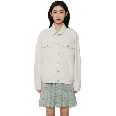 somedayif レディース ジャケット Butter cotton casual jacket