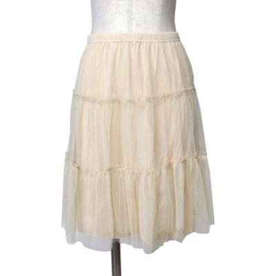 【新品】 SLY スライ レイヤードチュール スカート