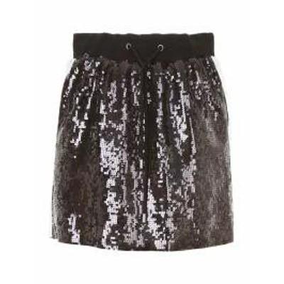 Alberta Ferretti レディーススカート Alberta Ferretti Sequins Skirt NERO|Nero