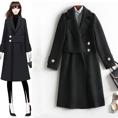 エレガント ファッション 韓国風コート  超お得、人気商品 20代  30代  40代