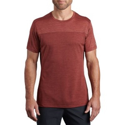 キュール メンズ シャツ トップス Aktiv Engineered Krew Shirt - Men's Sundried Tomato