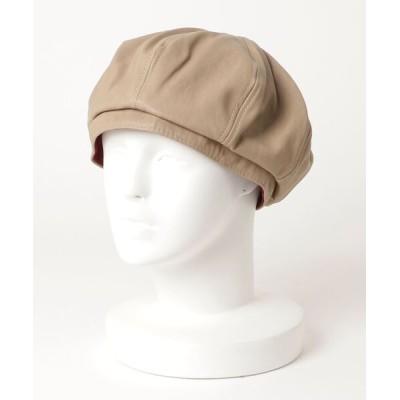 INNOCENT / 『LW』エコレザーベレー帽 - eco leather beret WOMEN 帽子 > ハンチング/ベレー帽