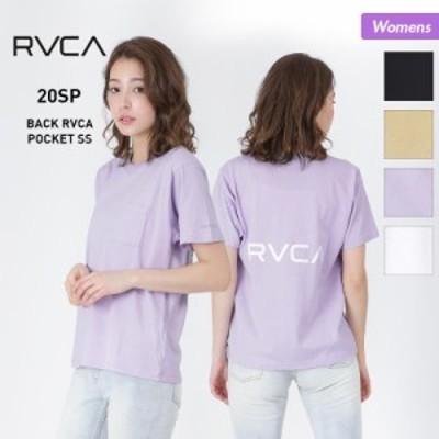 【もれなくP5倍★本日13:00~23:59まで】  RVCA/ルーカ レディース 半袖 Tシャツ BA043-212 ティーシャツ トップス バックロゴ ルカ 女性