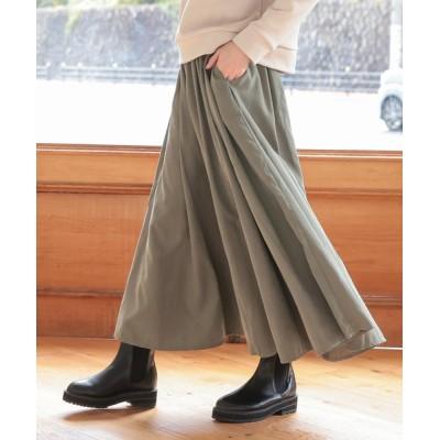 スカート ボリュームフレアスカート
