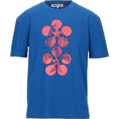 アレキサンダー マックイーン McQ Alexander McQueen メンズ Tシャツ トップス t-shirt Blue