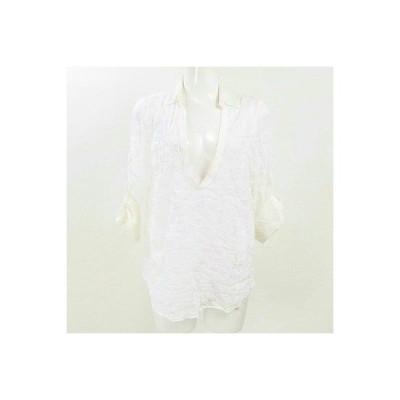 ルクールブラン(le.coeur blanc)白ブラウス