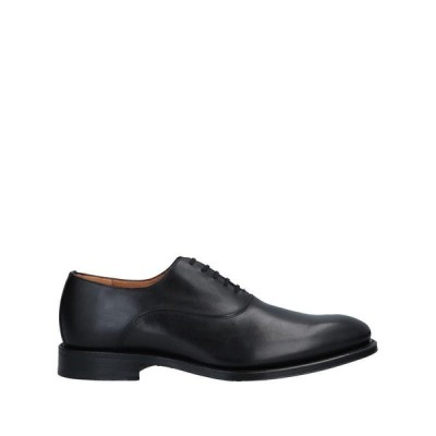 ORTIGNI レースアップシューズ  メンズファッション  メンズシューズ、紳士靴  その他メンズシューズ、紳士靴 ブラック
