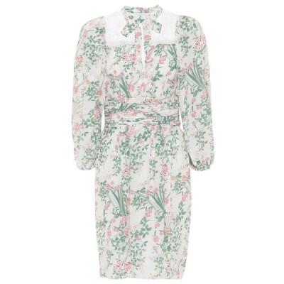 ジャンバティスタ バリ Giambattista Valli レディース ワンピース ワンピース・ドレス floral silk crepe de chine dress Ivoire-Gilly Flowers