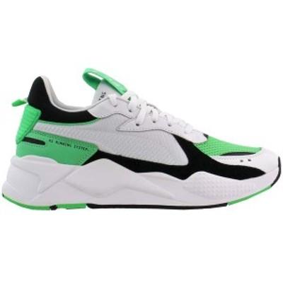 プーマ メンズ スニーカー シューズ RS-X Reinvention Lace Up Sneakers Puma White / Irish Green