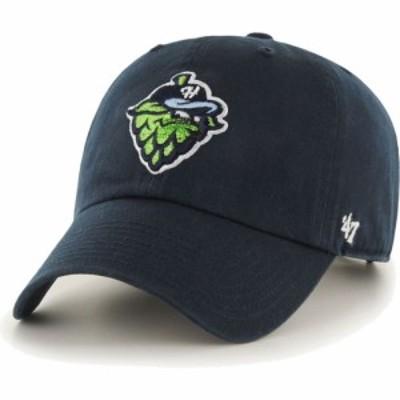 フォーティセブン 47 メンズ キャップ 帽子 Hillsboro Hops Navy Clean Up Adjustable Hat