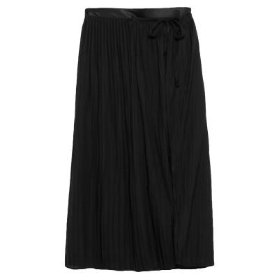 KITAGI® ロングスカート ブラック 40 ポリエステル 100% ロングスカート