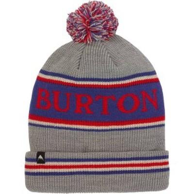 バートン メンズ 帽子 アクセサリー Burton Trope Beanie Gray Heather