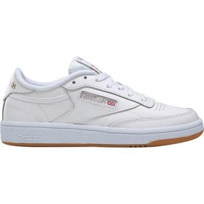 リーボック Reebok レディース スニーカー シューズ・靴 Club C 85 Sneaker White/Light Grey/Gum