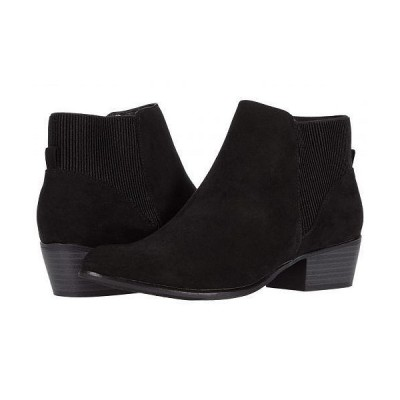 UNIONBAY ユニオンベイ レディース 女性用 シューズ 靴 ブーツ アンクル ショートブーツ Timmy - Black