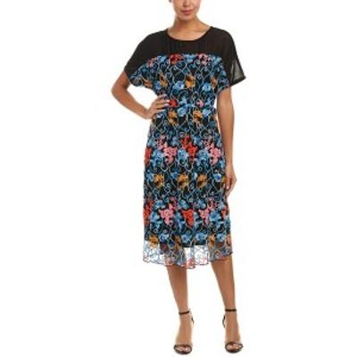 エヴァフランコ レディース ワンピース トップス Eva Franco Midi Dress Marrakesh floral