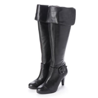 シューズラウンジ shoes lounge  ロングブーツ 2028384B (ブラック)