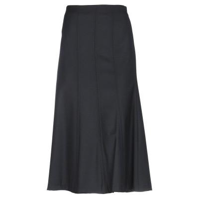 PESERICO SIGN 7分丈スカート ブラック 48 バージンウール 96% / ナイロン 2% / ポリウレタン® 2% 7分丈スカート