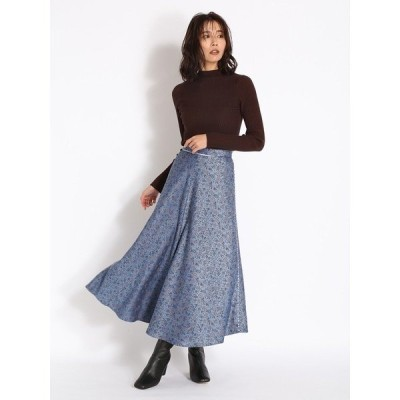 スカート ブロケードジャガードスカート