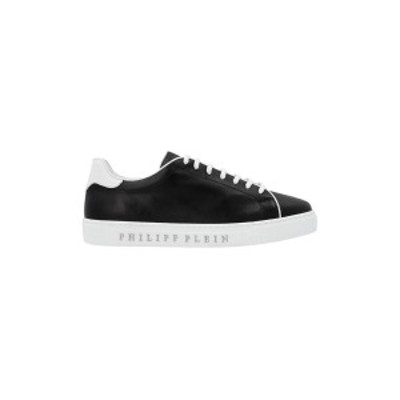 PHILIPP PLEIN/フィリップ プレイン Bianco/Nero Institutional' sneakers メンズ 春夏2021 PAASMSC3178PLE010N02 ju