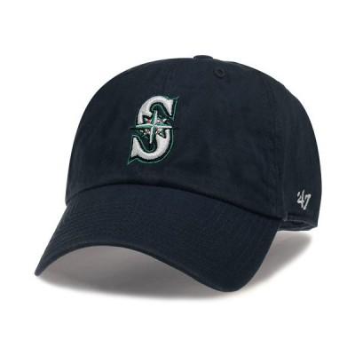 '47 Brand MLB カジュアルキャップ (CLEAN UP CAP/クリーンナップ キャップ) シアトル・マリナーズ