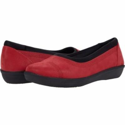クラークス Clarks レディース シューズ・靴 Ayla Low Red Textile