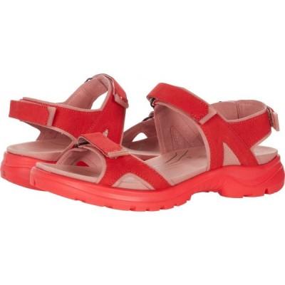 エコー ECCO Sport レディース サンダル・ミュール シューズ・靴 Yucatan 2.0 Sandal Hibiscus