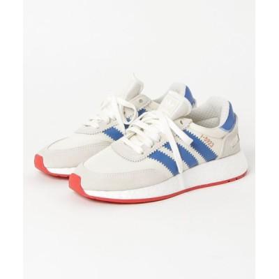 atmos / adidas Originals INIKI RUNNER (オフホワイト/ブルー/コアレッド S17) WOMEN シューズ > スニーカー