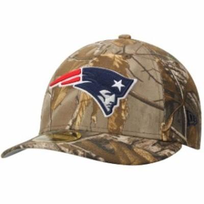 New Era ニュー エラ スポーツ用品  New Era New England Patriots Realtree Camo Low Profile 59FIFTY Hat
