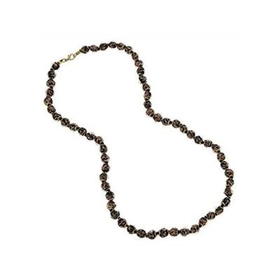 GlassOfVenice ムラノガラス ソマーソ ロングネックレス - ブラック