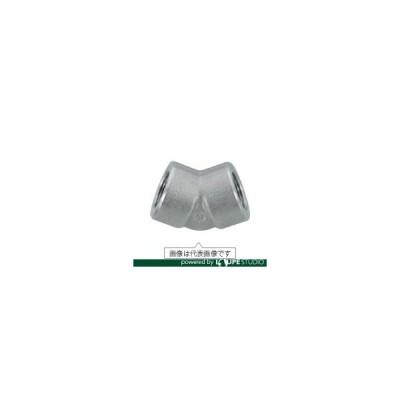 フジトク 45°エルボ 45E 10A 炭素鋼 ねじ込み [45E-PT-10A] 45EPT10A 販売単位:1