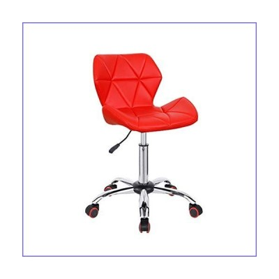 MEILEQI Height-Adjustable Swivel Desk Office Chair Comfortable Computer Chair with Rotatable Castor Wheels & Hydraulic Lift Suitable for Liv