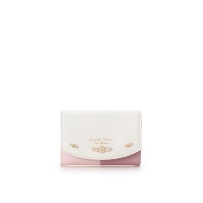 【サマンサタバサプチチョイス】 バイカラーデイジー カードケース レディース ピンク FREE Samantha Thavasa Petit Choice