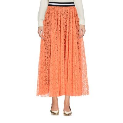 エムエスジーエム MSGM 7分丈スカート オレンジ 46 ナイロン 100% 7分丈スカート