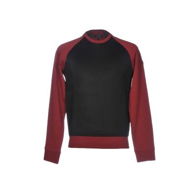 アルマーニ ジーンズ ARMANI JEANS スウェットシャツ レンガ XS コットン 100% / ポリエステル / ポリウレタン スウェットシ